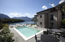 Tremezzina Beautiful apartment with swimming pool and lake view - front