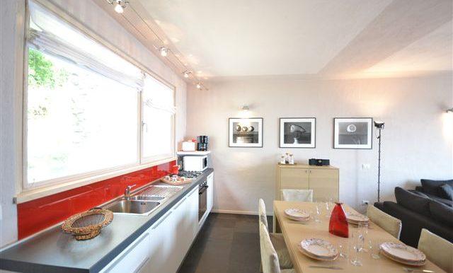 Pianello del Lario Apartment with lake view - Kitchen