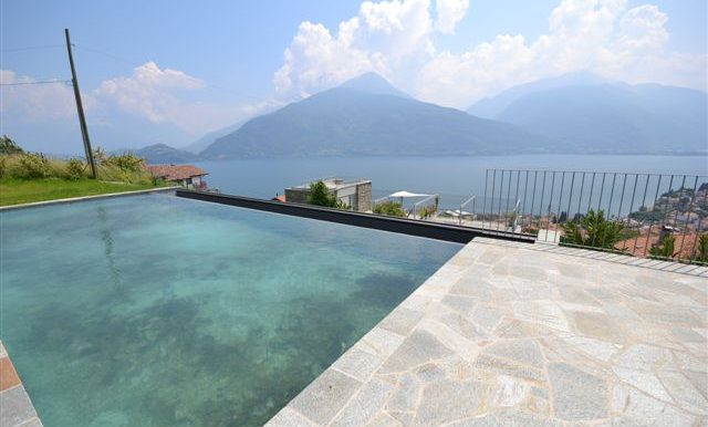 Swimming pool - Apartment with lake view balcony and terrace