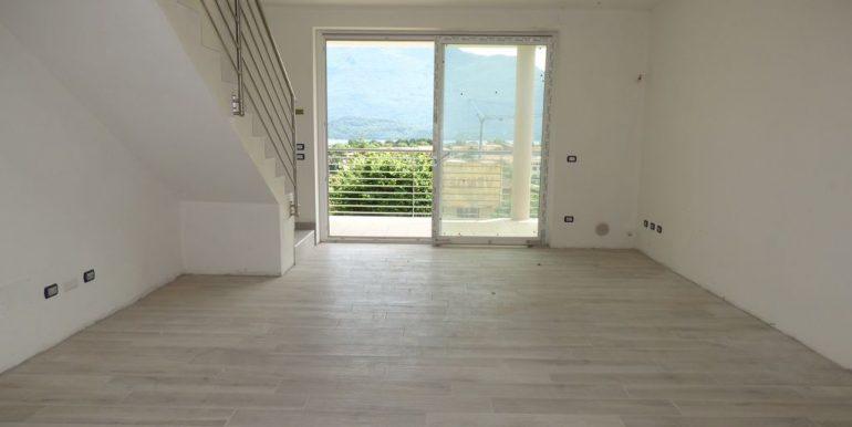 Domaso Apartment  - living room