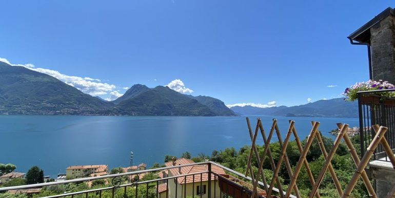 Apartment San Siro with Terrace and Lake View -view