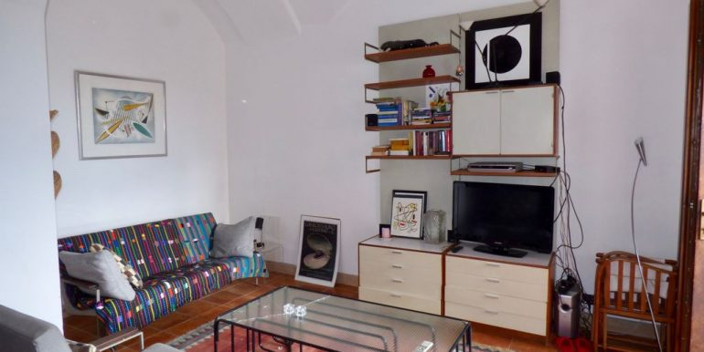 San Siro Apartment - living room