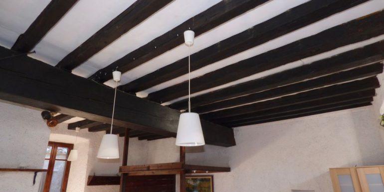 Apartment San Siro wooden beams at sight