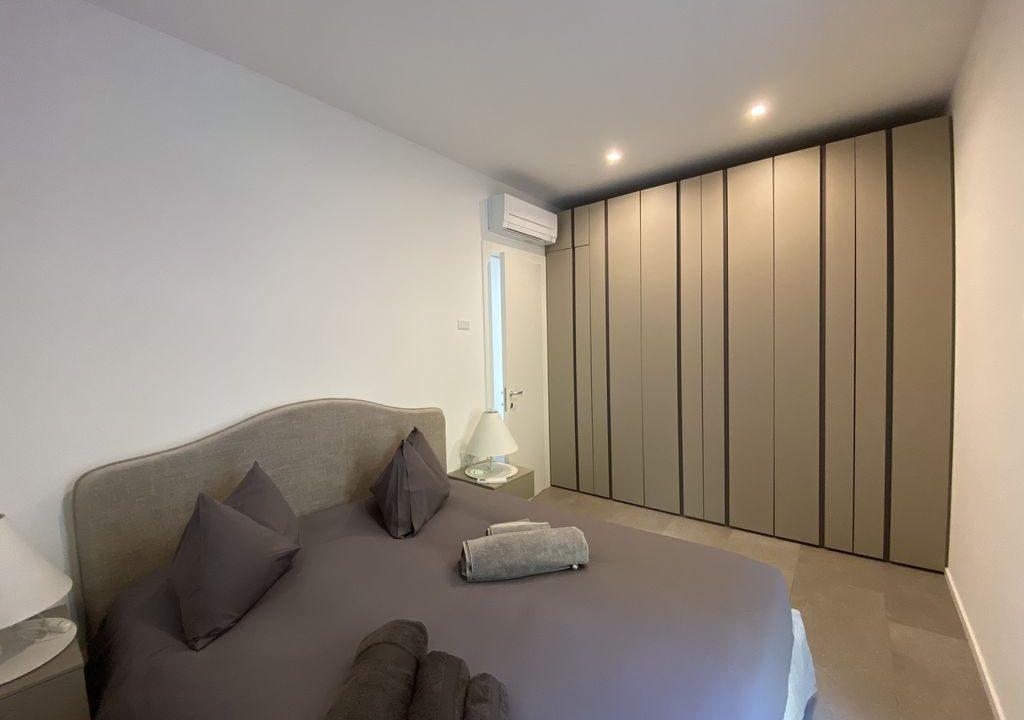 Lake Como Vercana Luxury Apartment with Terrace - bedroom