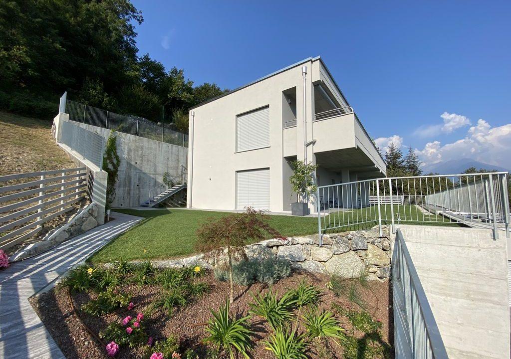 Lake Como Vercana Luxury Apartment with Terrace - external