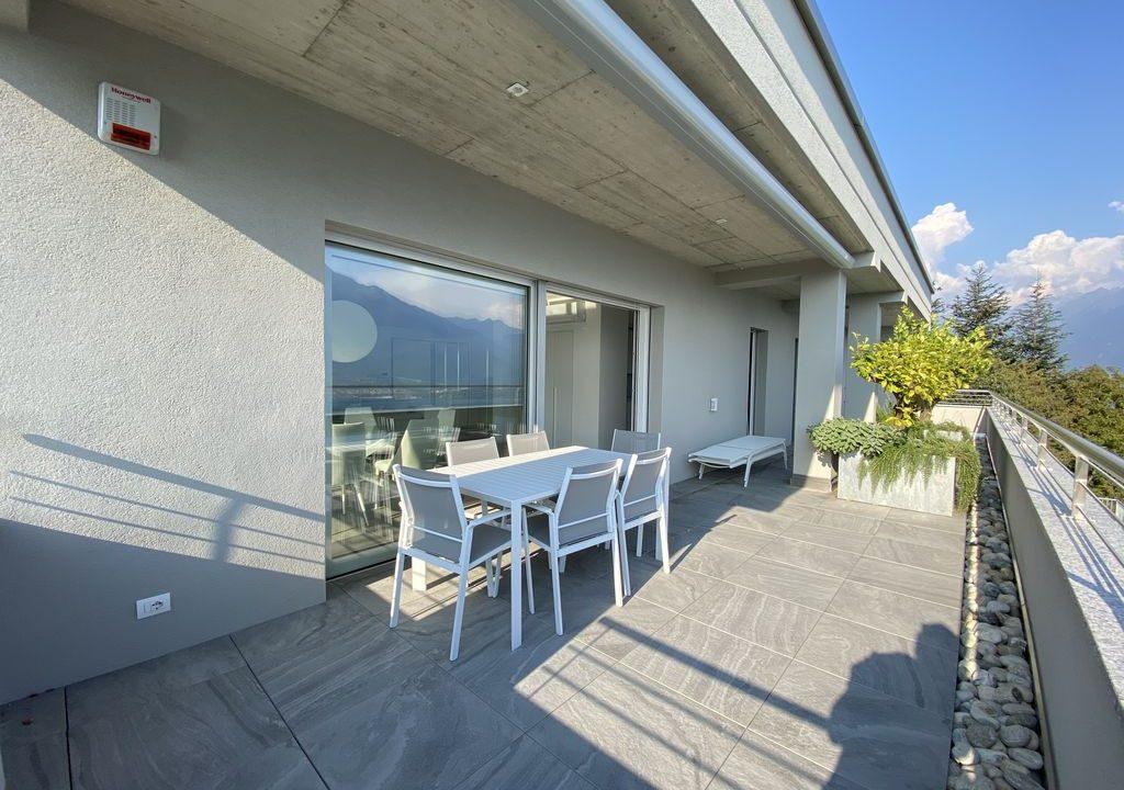 Lake Como Vercana Luxury Apartment with Terrace -