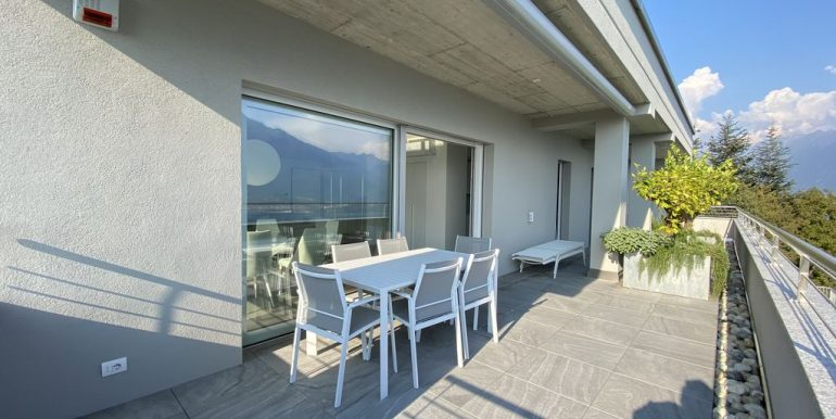 Lake Como Vercana Luxury Apartment with Terrace -