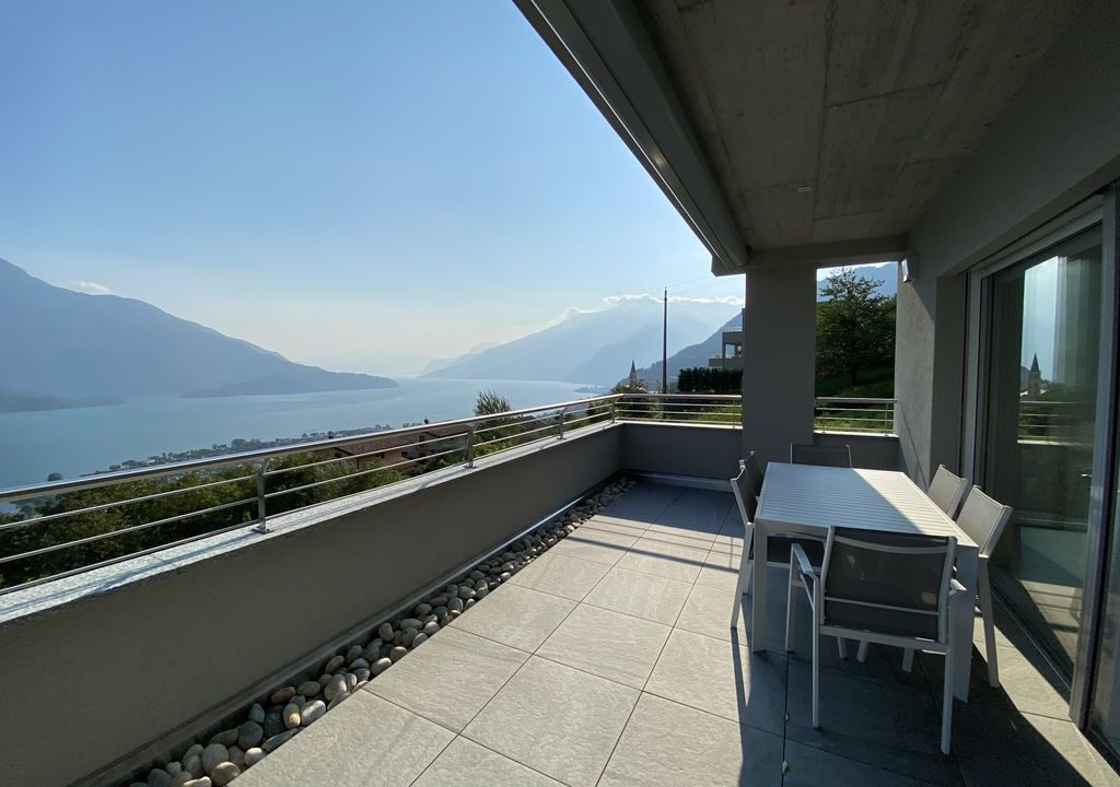 Lake Como Vercana Luxury Apartment with Terrace