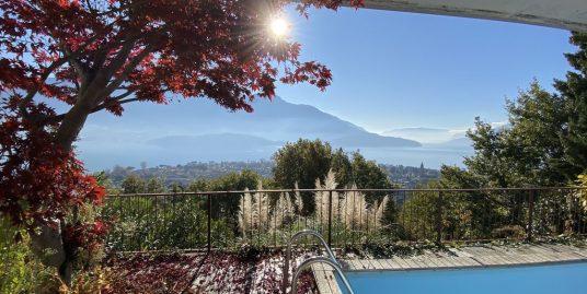 Lake Como Domaso Apartment with Swimming Pool
