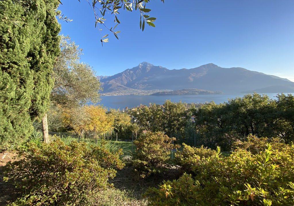 Lake Como Domaso Apartment with Swimming Pool - view