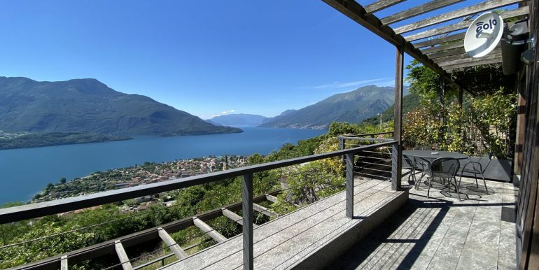 Appartamento Vercana Lago Como - terrazzo