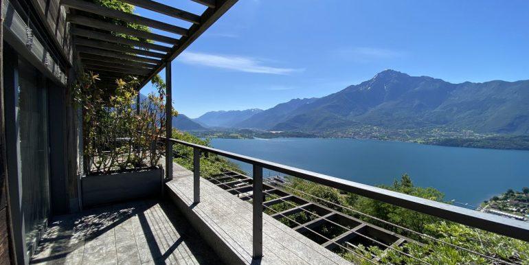 Appartamento Vercana Lago Como soleggiato