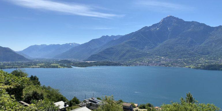 Appartamento Vercana Lago Como vista lago