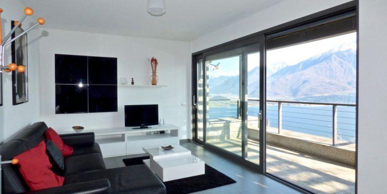Apartment Vercana - living room