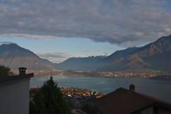 Lake Como Gravedona ed Uniti Apartment with Balcony and lake view
