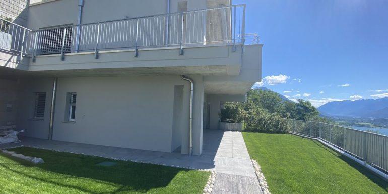 Apartments in Modern Residence Lake Como Domaso - lake view