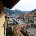 Lake Como view - Argegno village from balcony