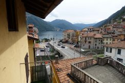 Lake Como view - Argegno village from balcony