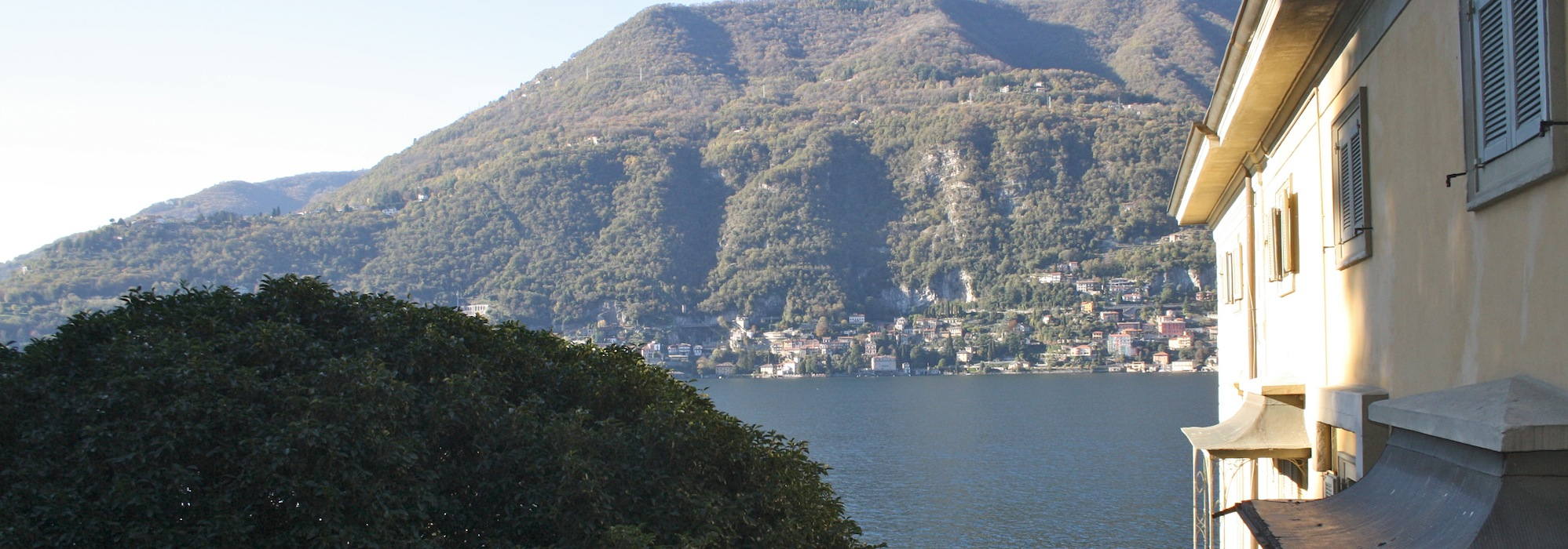 Lake Como Torno Apartment with Boat place