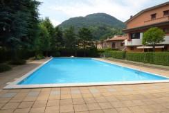 Lake Como Domaso Apartment with Private Garden