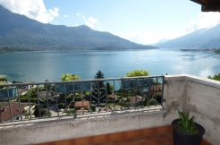 Apartment Gera Lario terrace and lake view