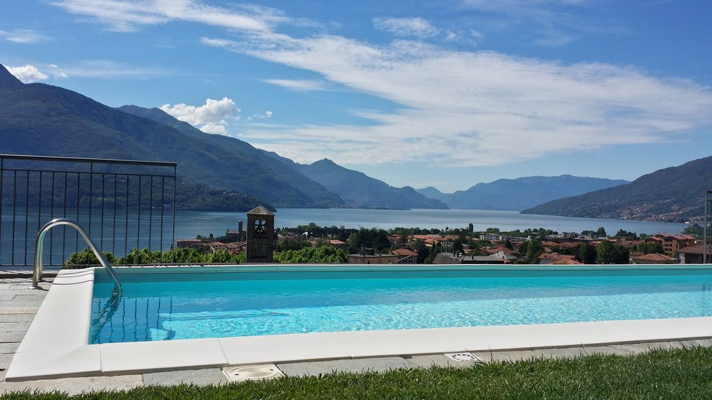Apartment Gravedona ed Uniti with Pool and Lake View