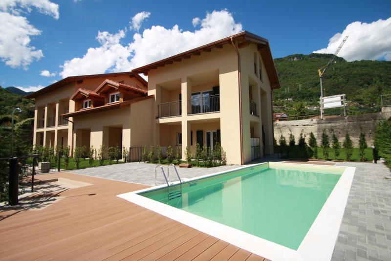 Lake Como Gravedona Residence with Swimming Pool