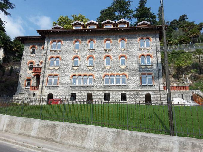 Menaggio Lake Como Apartments in Period Villa - front
