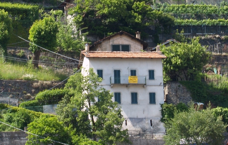 Lake Como Dongo Detached House with Lake view