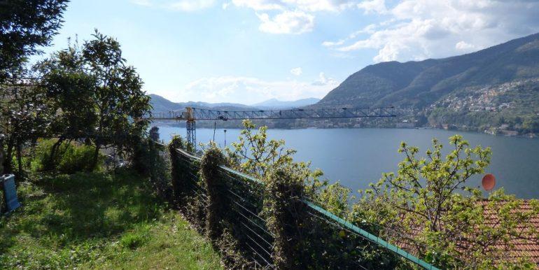 Lake Como Blevio House - garden and lake view