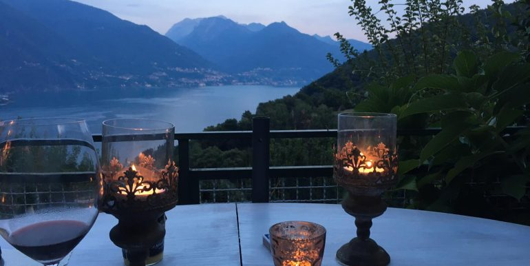 Lake Como Cremia House with Lake View