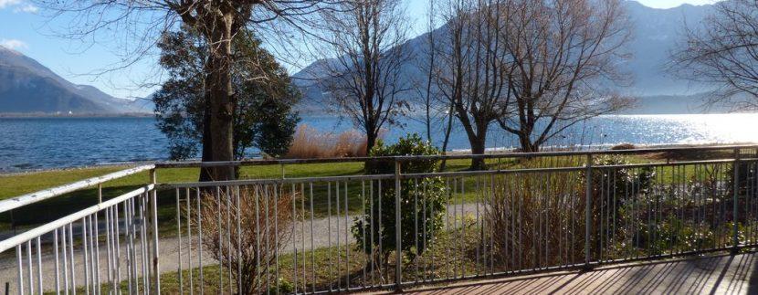 Lake Como Domaso House with Land Front Lake