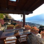 Lake Como Domaso Stone House - veranda photo