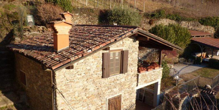 Lake Como Domaso Stone House - furnished