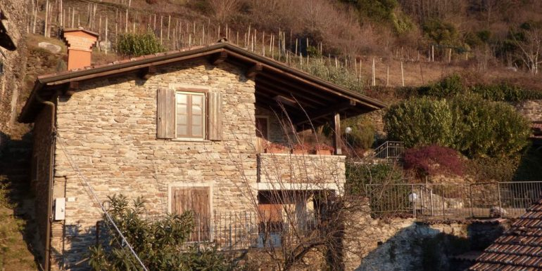 Lake Como Domaso Stone House