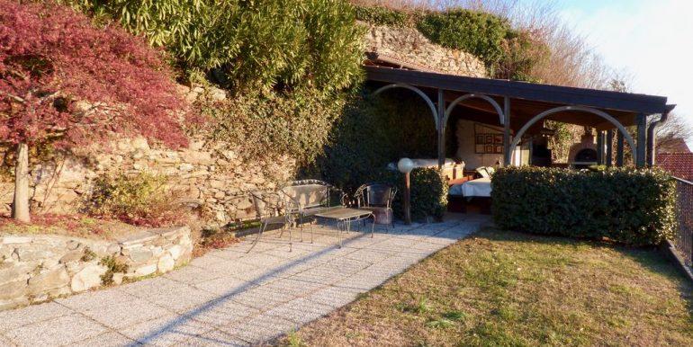 Lake Como Domaso Stone House sunny