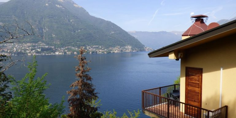 Villa Faggeto Lario Front Lake