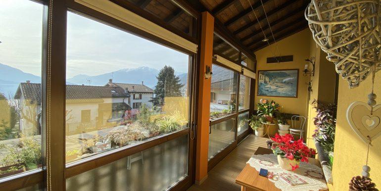 Detached House Gera Lario with 2 Apartments - veranda