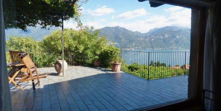 Villa Lake Como Menaggio - large terrace