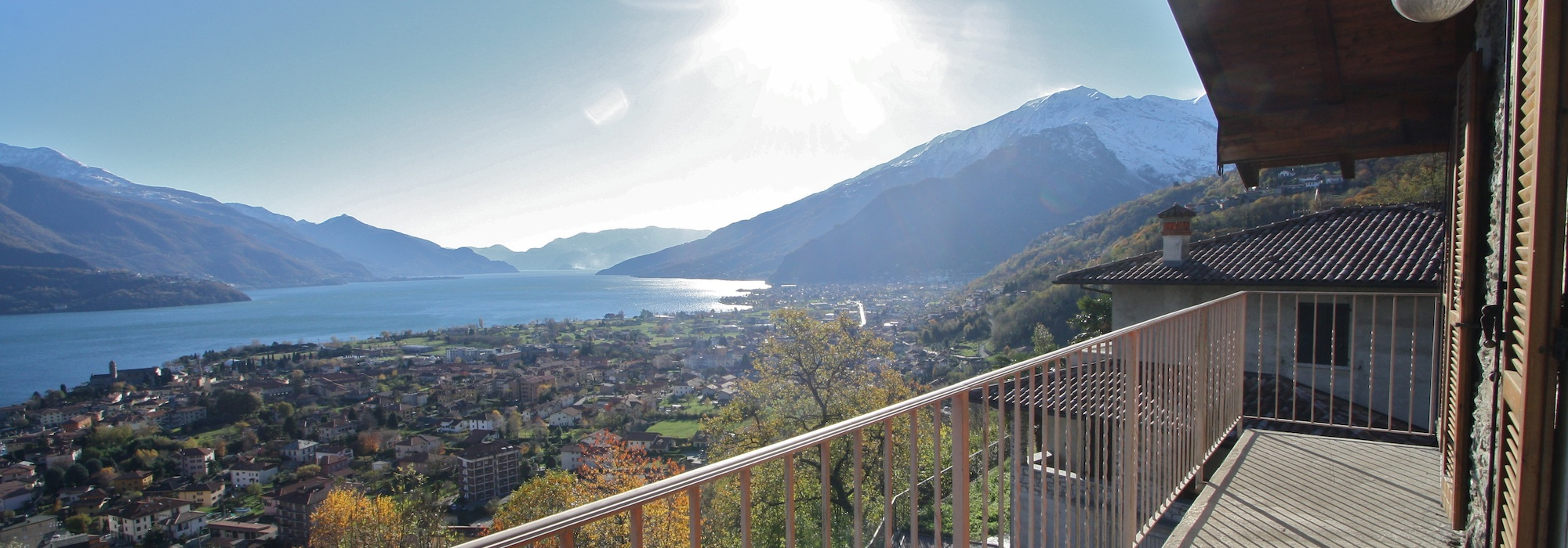 Lake Como Gravedona ed Uniti House with Lake View