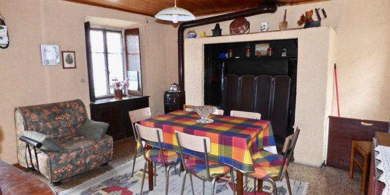 House Domaso Lake Como with fireplace