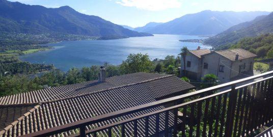 Lake Como Gera Lario Hillside House with Lake View