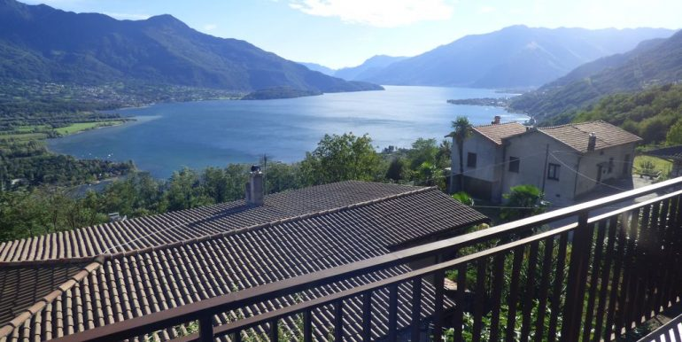 Lake Como Gera Lario Hillside House with Lake View