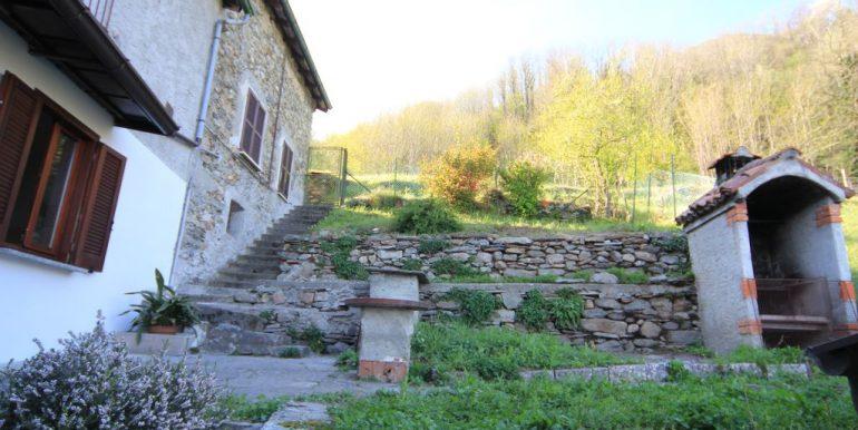 House with 2 Apartments Domaso Lake Como - garden