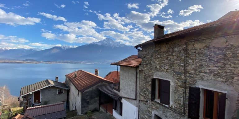House with 2 Apartments Domaso Lake Como with lovely lake view