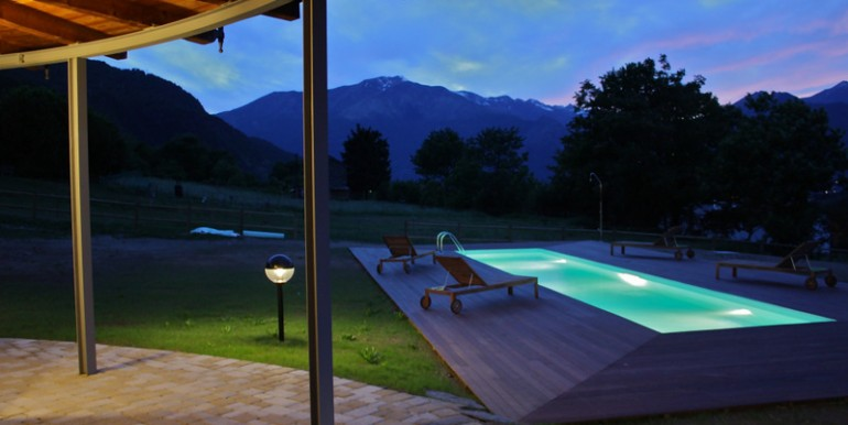 Lake Como Colico Villa with Swimming Pool