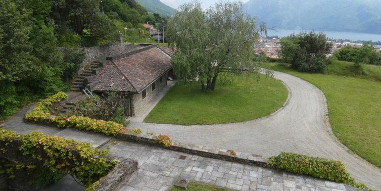 Luxury Villa Lake Como Mandello del Lario - garden
