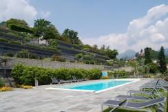 Lake Como Menaggio Modern Design Apartament Dominating the Lake