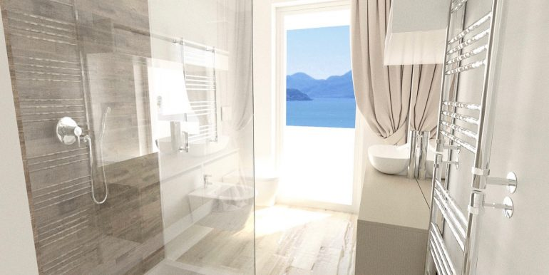 Apartments in Modern Residence Lake Como Domaso - bathroom