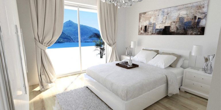 Apartments in Modern Residence Lake Como Domaso possibility to choose the finishes